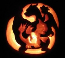 Charmander's Evolution Pumpkin Carving