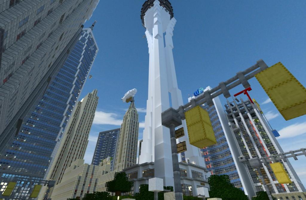 Amazing minecraft city