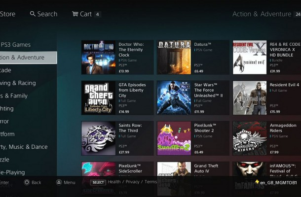Check out the new PSN Store