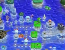 Does Super Mario Bros U have the best world map ever?
