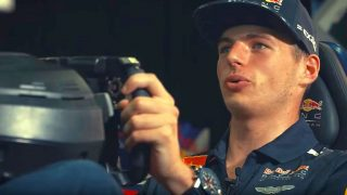 Mad Max Verstappen behind the wheel on F1 2017