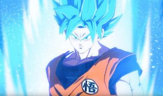 Dragon Ball FighterZ SSGSS Goku Trailer