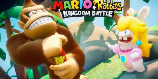 Donkey Kong is heading to Mario + Rabbids Kingdom Battle